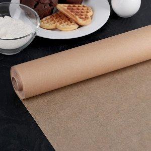 Бумага для выпечки Подпергамент, бежевая 280 мм/50 м