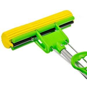 Швабра для мытья пола с телескопической ручкой