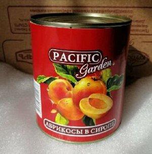 Абрикосы Pacific Garden в сиропе 820 гр