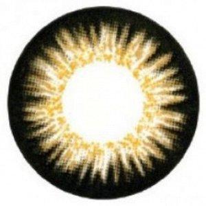 Перекрывающие цветные контактные линзы HERA Color Elite НУЛЁВКИ (2 линзы)