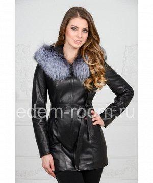 Демисезонная кожаная курткаАртикул: F-6106-1-CH