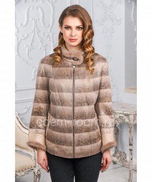 Демисезонная куртка из эко-замшиАртикул: NT-1832-1-B