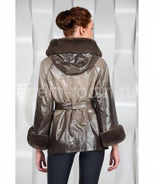 Демисезонная куртка из эко-кожиАртикул: NS-170-1-KP