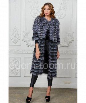 Меховое пальто - в росшивАртикул: RE-2217-110-CH