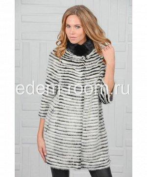 Норковое пальто на кашемиреАртикул: 14004-A-CH