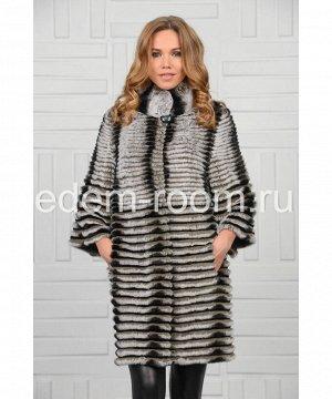 Меховое пальто из стриженного кролика РексАртикул: RE-K079