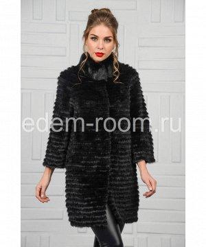 Меховое пальто из норкиАртикул: 14001-A-CH