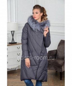Женское пуховое пальтоАртикул: PT-9201-110-SR-CH