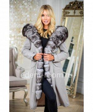 Парка-пальто на зимуАртикул: V-19089-110-SR-P