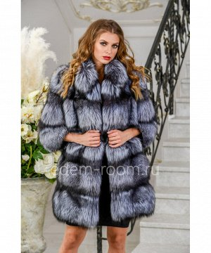 Модная шуба из чернобурки Артикул: 12653-80-CH