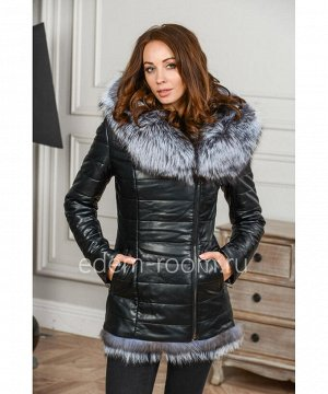 Куртка из экокожи для зимыАртикул: RS-1718-2-70-CH