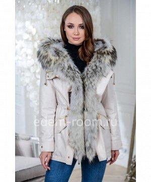 Зимняя парка - куртка с мехом енотаАртикул: TG-2872-75-ML-EN