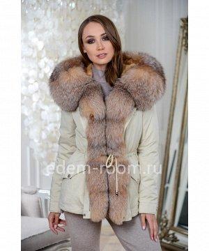 Зимняя куртка-парка с капюшономАртикул: DJ-5621-70-ML-P