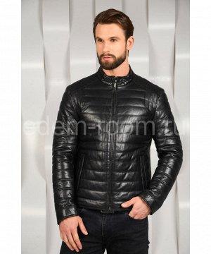 Осенне- весенняя кожаная куртка Артикул: W-80-CH