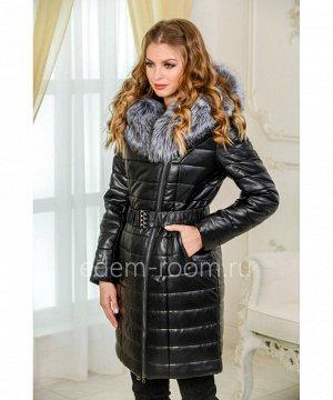 Молодёжное пальто из экокожиАртикул: I-1921-90-CH