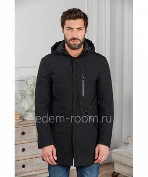 Чёрная мужская куртка с капюшономАртикул: R-898015-2-CH