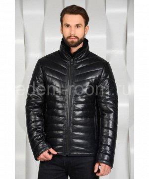 Мужская кожаная куртка для зимыАртикул: C-52246-N
