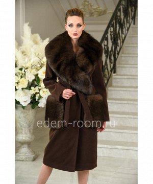 Демисезонное пальто под поясАртикул: AL-1837-110-K-P