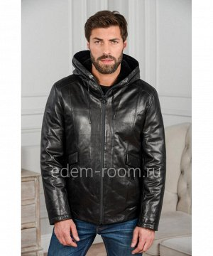 Зимняя куртка с меховым капюшономАртикул: W-1857-70-2-C