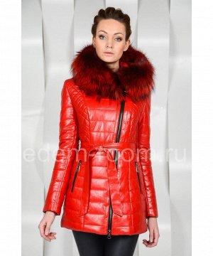 Красная куртка из эко-кожиАртикул: RS-529-1