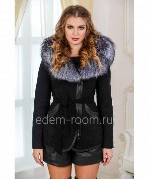 Укороченная дубленка - курткаАртикул: N-1883-65-2-CH