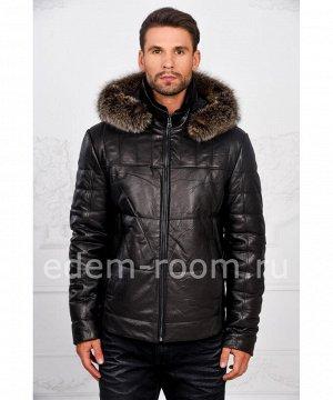 Мужская тёплая куртка с капюшономАртикул: I-1856-EN