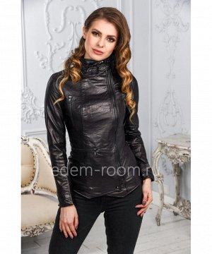 Женская кожаная куртка Артикул: LN-351-CH