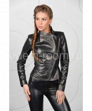Стильная женская кожаная куртка весенняяАртикул: M-12L309