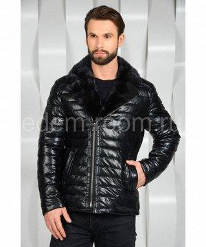 Мужская куртка из экокожиАртикул: I-618-N