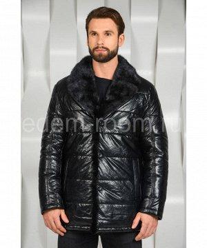 Мужская зимняя куртка с норковым воротникомАртикул: I-668-N