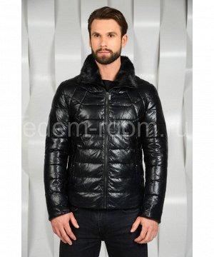 Мужская зимняя куртка из экокожиАртикул: I-861-N