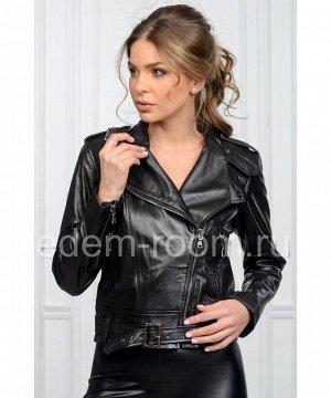 Короткая весенняя куртка - косухаАртикул: AL-17760-CH