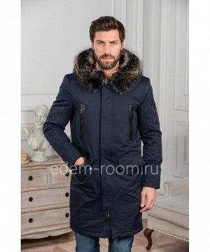 Удлинённая зимняя мужская курткаАртикул: R-18272-2-SN-EN