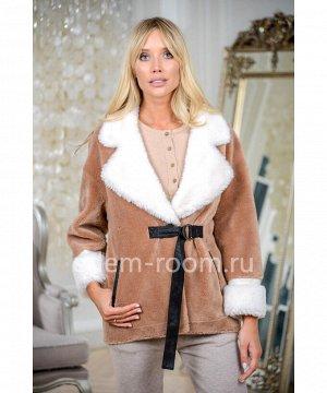 Куртка современная из шерстиАртикул: N-9015-70-KM