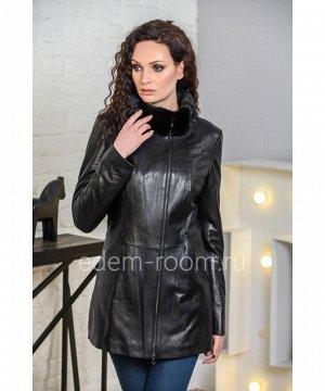 Осенне- весенняя куртка из кожиАртикул: H-8836-75-N