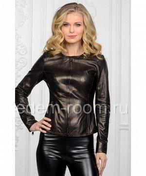 Женская куртка из натуральной кожи для весныАртикул: NS-5683-CH