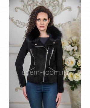 Осенне- весенняя куртка из замшиАртикул: TG-188025-55-Z-P