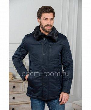 Мужская куртка с норковым воротникомАртикул: R-898032-SN-N