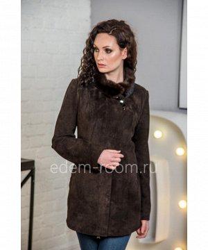 Межсезонная куртка из натуральной замшиАртикул: H-2511-80-Z-K-N