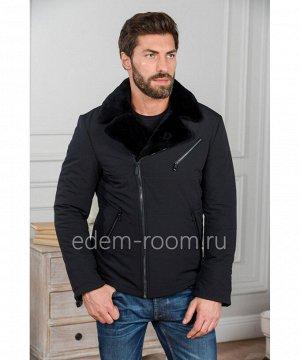 Мужская куртка из тканиАртикул: R-1830-CH-C
