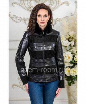 Комбинированная куртка для весны и осениАртикул: S-1867-65-N