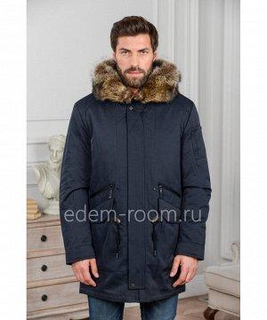 Мужская зимняя куртка с капюшономАртикул: R-18672-2-SN-EN