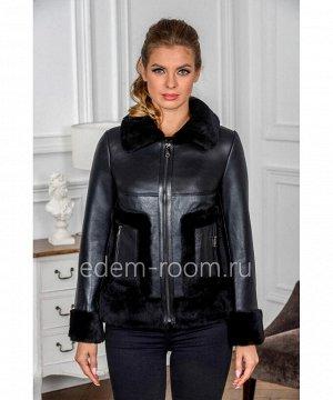 Дублёнка - куртка без капюшонаАртикул: B-T17-60-CH