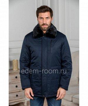 Зимняя куртка с норковым воротникомАртикул: C-18D02-SN-N