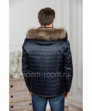 Зимняя куртка с мехом енотаАртикул: R-898003-2-SN-EN