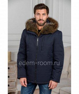 Зимняя куртка с меховым капюшономАртикул: C-18D06-2-SN-EN