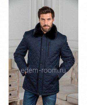 Зимняя куртка с меховым воротникомАртикул: C-18D39-SN-N