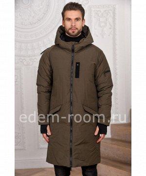 Ультрамодное зимнее мужское пальто  Boris Bidjan SaberiАртикул: M-5478-H