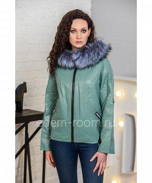 Осенне-весенняя куртка из эко-кожиАртикул: I-8518-60-2-M
