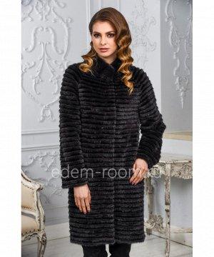 Норковое пальто на кашемиреАртикул: M-17014-90-MH-CH